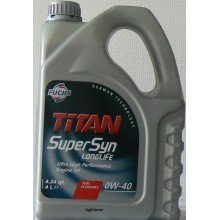 FUCHS TITAN SUPERSYN LONGLIFE 0W-40 4L