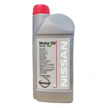 Двигателно масло Nissan Motor Oil, SAE 5W-30, ACEA C4, API SM/CF, for Nissan DPF