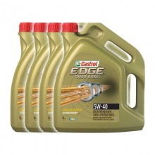 4 броя CASTROL EDGE TURBO DIESEL 5W-40 5L